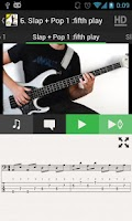 Screenshot of SLAP Bass Lessons HD VIDEOS