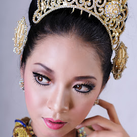 She by Mang Wibawa - Wedding Bride ( indonesian, fashion, model, bridal, woman )