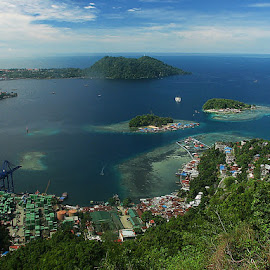 Jayapura City by Sengkiu Pasaribu - Landscapes Travel