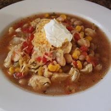 Chicken and Bean Chilli Soup