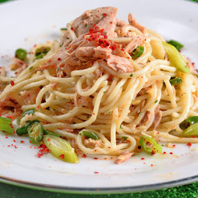 spagetti al dente by Willyam Talim - Food & Drink Plated Food