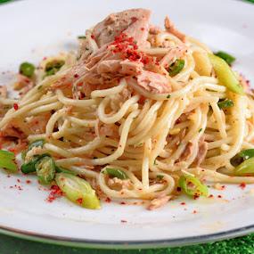 spagetti al dente by Willyam Talim - Food & Drink Plated Food