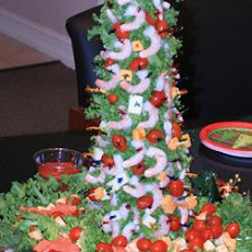 Mary's Christmas Shrimp Tree