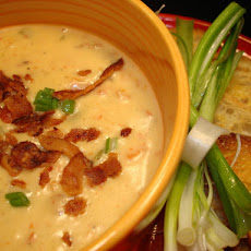 Beer Cheddar Soup