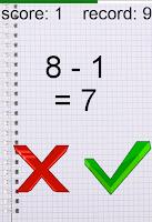 Screenshot of Quiсk Math-Test