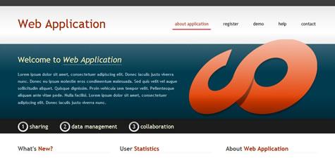 template website gratis