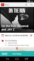 Screenshot of Live Nation – Concert Tickets