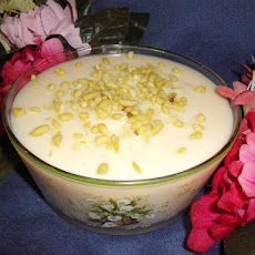 Egyptian Milk Pudding (Mihallabiya)