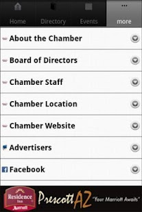 Prescott Chamber Of Commerce - screenshot