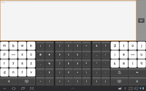 KALQ Keyboard (Official) Beta Screenshot