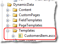 Folder structure changes