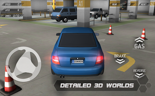 APK Game Parking Reloaded 3D for BB, BlackBerry