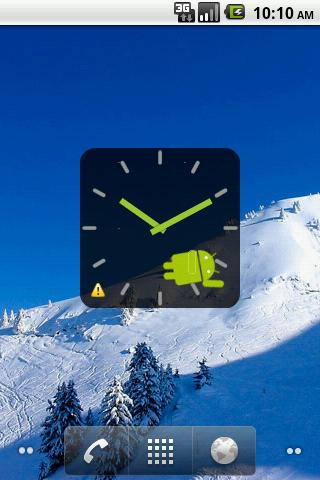 Droid Clock Widget