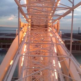 Navy Pier Ferris Wheel by Chanin Reed - City,  Street & Park  Amusement Parks