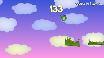Screenshot of Kitty Rocks! Jumping cat game