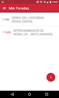 Screenshot of InterUrbanos Madrid Bus EMT