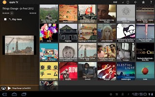 Screenshot of PlayTo Samsung TV