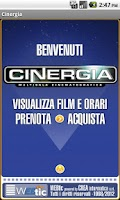 Screenshot of Webtic Cinergia Cinema