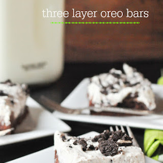 Triple Layer Oreo Bars