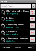 Screenshot of MidiFun Karaoke