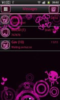 Screenshot of Emo Punk Go Sms Pro