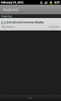 Screenshot of ExYuDroid Internet Radio