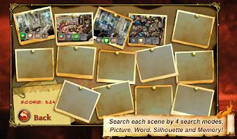 Screenshot of Hidden Object House Secrets 2