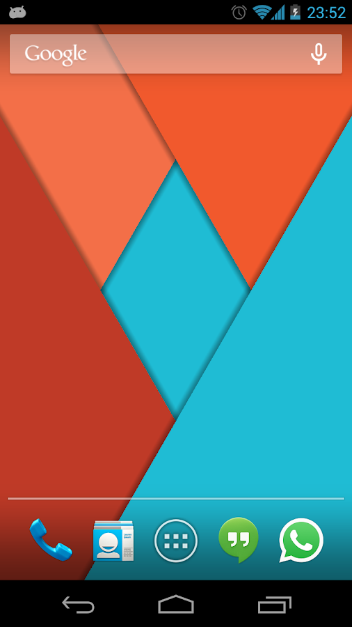Material Design Live Wallpaper Screenshot 2