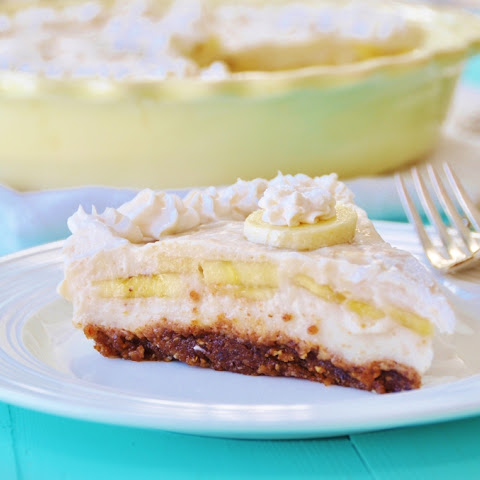 Vegan Banana Cream Pie