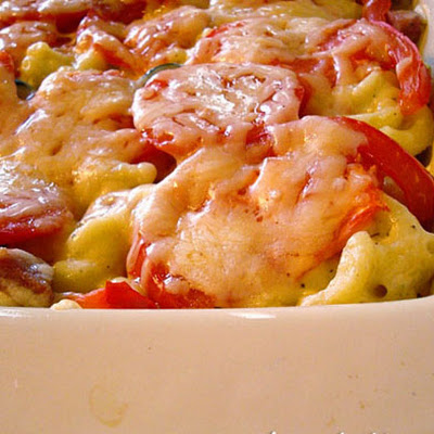 Tuscan Macaroni and Cheese Bake