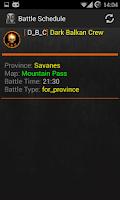 Screenshot of World of Tanks Clan Wars Tool