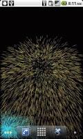 Screenshot of Fireworks(Live Wallpaper)