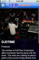 Screenshot of DJDTIME