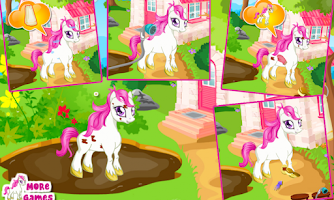 Screenshot of Cute pony care – girl game