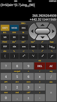 Screenshot of HF Scientific Calculator