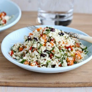 Raw Cauliflower Couscous