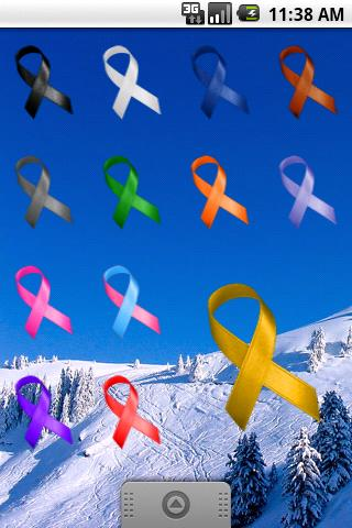 Awareness Ribbon - Purple