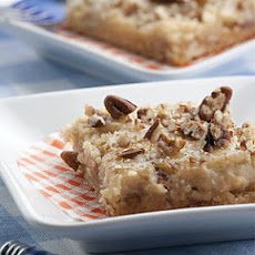 Quick & Easy Nutty Cheese Bars