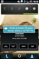 Screenshot of PTT Widget