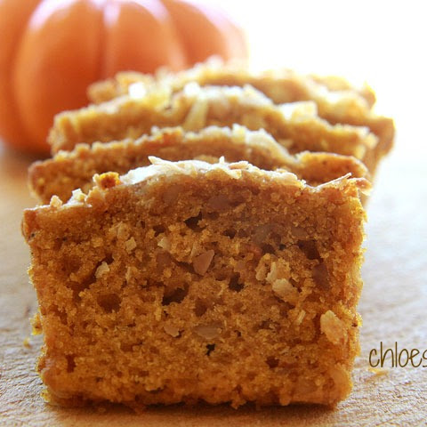 Pumpkin Bread for the Holidays
