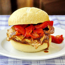 Orange Hoisin Pork Sandwiches