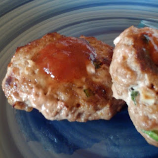 Apple Kissed Turkey Burgers