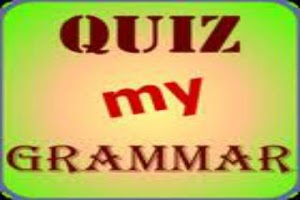 Screenshot of Grammar Quiz