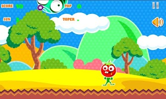 Screenshot of Tomato Man Dodge