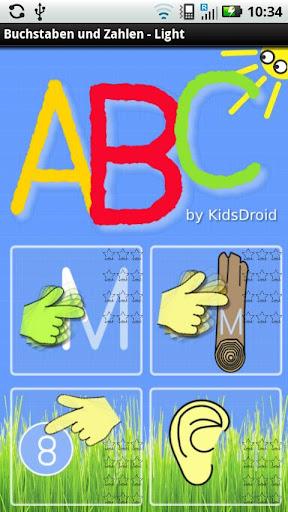 ABC - Buchstaben und Zahlen