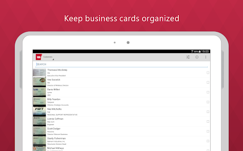 App Business Card Reader Pro APK for Windows Phone