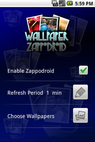 Wallpaper Zappodroid