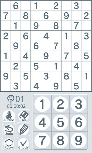 Sudoku by Nikoli Medium 03