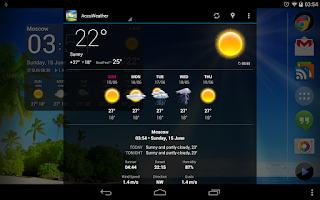 Screenshot of Weather Now (free)