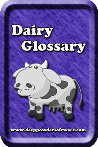 Dairy Glossary